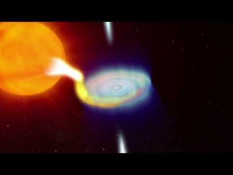 como observar un agujero negro con un telescopio de aficionado