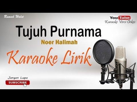 Tujuh Purnama - Cover By Karaoke Versi Orkes