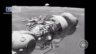 СССР высадились первыми на Луну в 1966 году и сообщили об НЛО !!! Разсекреченные видео записи !