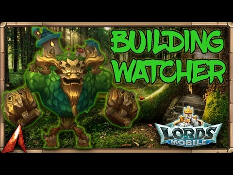 Lords Mobile Building Watcher Hell Event! Get Watcher Medals!