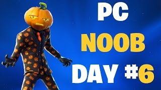 PRACTICE TOURNAMENT FORTNITE PC NOOB DAY #6