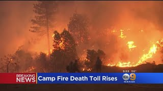 Death Toll Reaches 63 In California's Camp Fire, While 631 Unaccounted For