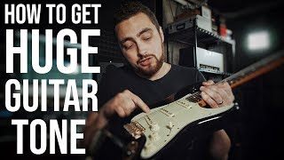 MASSIVE Lead Guitar Tone With The Kemper Profiler    Signal Flow ep.2