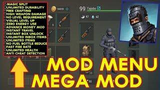 LAST DAY ON EARTH SURVIVAL 1.7.9 MOD MENU /Magic split, mod menu, unlimited items, 99 lvl, Hack mod