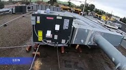 Commercial Roof Top Unit (HVAC) Installation San Jose, CA