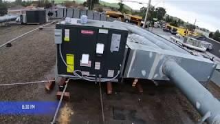 Commercial Roof Top Unit (HVAC) Installation San Jose, CA