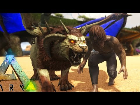 THE PERFECT BABY MANTICORE! INSANE AQUA TAMING! (10) ARK: Survival Pooping Evolved