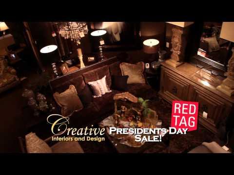 "Creative Interiors ""Presidents Day Sale"" TV Spot"