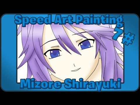 Speed Art Painting #7 - Mizore Shirayuki (Paint Tool SAI)
