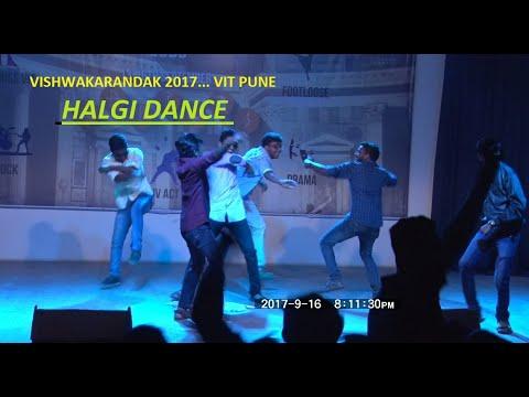 Vishwakarandak'17 VIT PUNE ... Rada dance by TE boys.