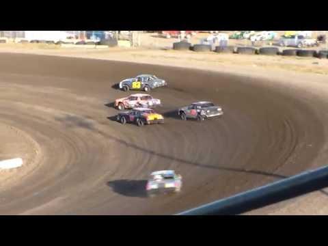 Nodak Speedway IMCA Hobby Stock Heats (8/21/16)
