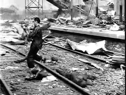 History of China  Second Sino Japanese War, Bloody Saturday, Nanking Massacre, Battle of Changsha