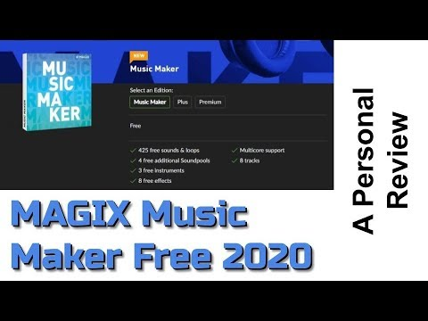 Best Free Daw 2020 MAGIX Music Maker Free 2020 Review   YouTube
