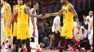 Irving and James Lead Cavs with Strong Performances Against Clippers