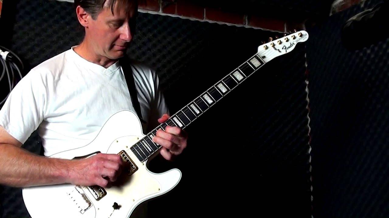 fender fsr telecaster thinline super deluxe guitar clean youtube. Black Bedroom Furniture Sets. Home Design Ideas