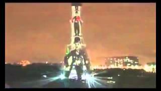 Лазерное шоу на Останкинской телебашне