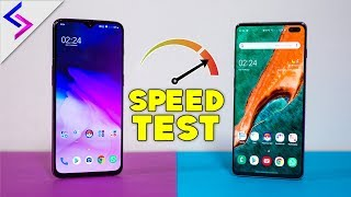 Samsung Galaxy S10 Plus vs OnePlus 6T - Speed Test