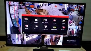 HIKVISION DVR RECODING PLAYBACK 1 CCTV RECODING PLAYBACK