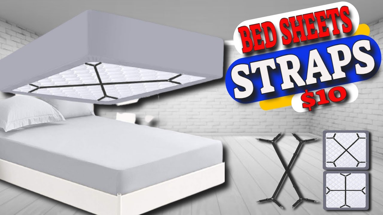 Fitted Sheet Canada How To Keep Your Bed Sheets In Place With The Fitted Bed Sheet Straps Review