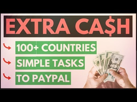 How To Make Extra Money From Home Doing Online Tasks That Pay PayPal 💸