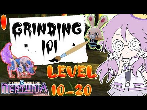 Hyperdimension Neptunia Grinding 101 (Re;Birth1) Episode 1 |