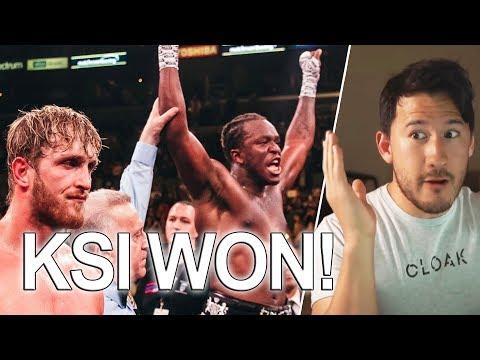 KSI Wins Against Logan Paul... Markiplier Rants About YouTube! Streamer BANNED