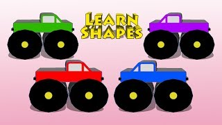 Gambar cover Vids4Kids.tv - Learn Shapes And Build A Monster Truck
