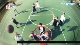 Luhan playing basketball EST ep 12