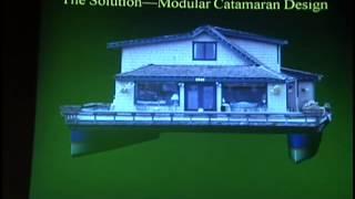 Eric Sponberg — Modular Catamaran Houseboat, IBEX 2011