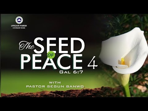 Dew of Heaven Service - The Seed of Peace Part 4 (Gal. 6:7)- 10th SEPT 2017.