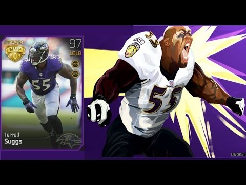 #MUT25 | Baltimore Ravens 97 Overall Team MVP Terrell Suggs Collection Completion | Ball So Hard U