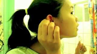 Piercing own cartilage!