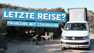 LETZTE REISE? | Unsere Stauraumprobleme | CAMPEN IN HOLLAND