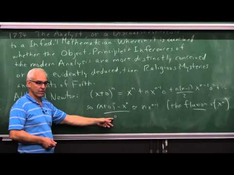 MathHistory25: Problems with the Calculus