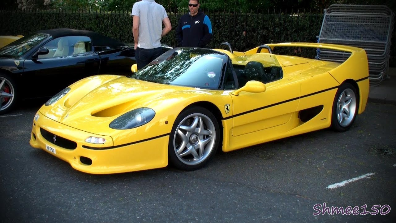 Ferrari F50 Acceleration Walkaround And Shots Youtube