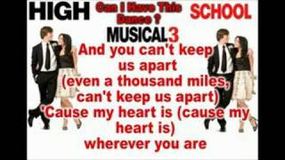 HSM3 - Can I Have This Dance? + Download HQ Song & Video