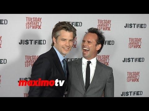 FX's JUSTIFIED Season 5 Premiere Timothy Olyphant, Walton Goggins, Alicia Witt, Joelle Carter