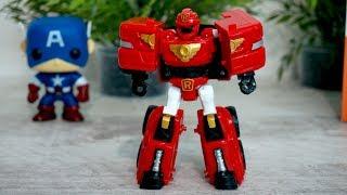 Тобот R - Видео с игрушками из мультфильма Тоботы. Робот-Трансформер