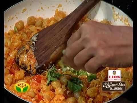 "Aarokiya Unavu 15-06-2016 ""Muttaikose Chana Pulao"" – Jaya TV cookery Show Arokiya Unavu Episode 36"