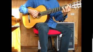 Bill Frisell - Strange meeting - Cover by Angelo Comincini
