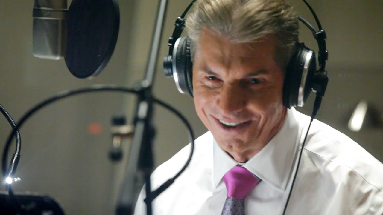 Behind-the-scenes of Camp WWE's legendary voiceover sessions (WWE Network Exclusive)