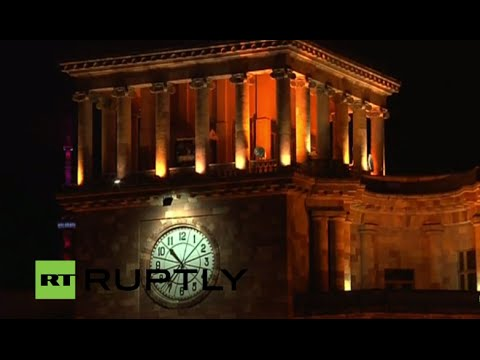 LIVE: Torchlight procession remembers Armenian mass killing victims