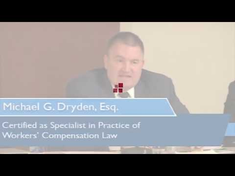 Philadelphia Attorney Michael G. Dryden Discusses Firefighter Workers' Compensation Act
