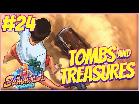 TOMBS AND TREASURES! - Summertime Saga Walkthrough Part 24   Halloween Update Special!