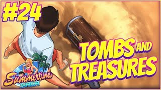 TOMBS AND TREASURES! - Summertime Saga Walkthrough Part 24 | Halloween Update Special!