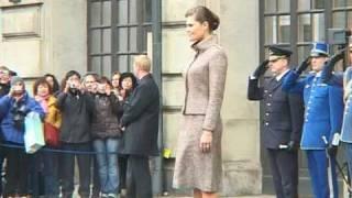 Förlovning mellan kronprinsessan Victoria & Daniel
