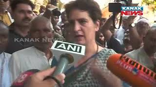 Sonbhadra Shoot Priyanka Gandhi Claims She Is Not Allowed To Meet Victims Kin