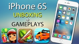 iPhone 6S - Unboxing Gamer