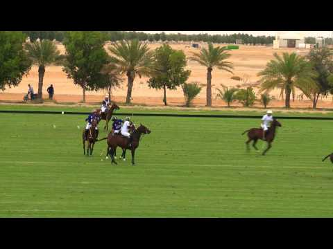 Desert Palm VS Zedan in the Emirates Open Polo Championship 2015