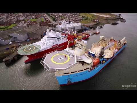 Port of Blyth's Offshore Energy Supply Base